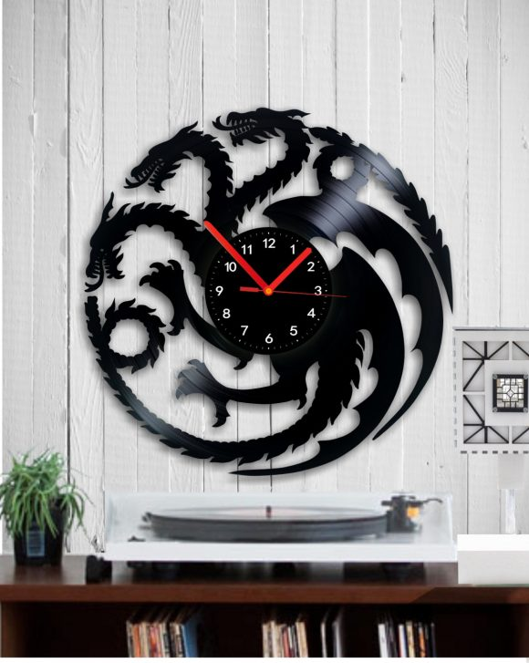 vinyl-clock-dragon