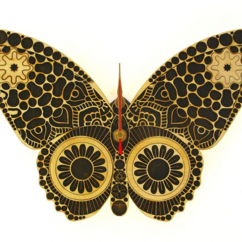 wood-clock-butterfly1