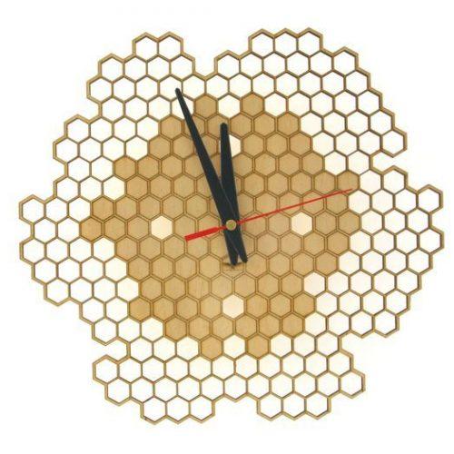wood-clock-honey1-700