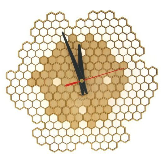 wood-clock-honey1-700