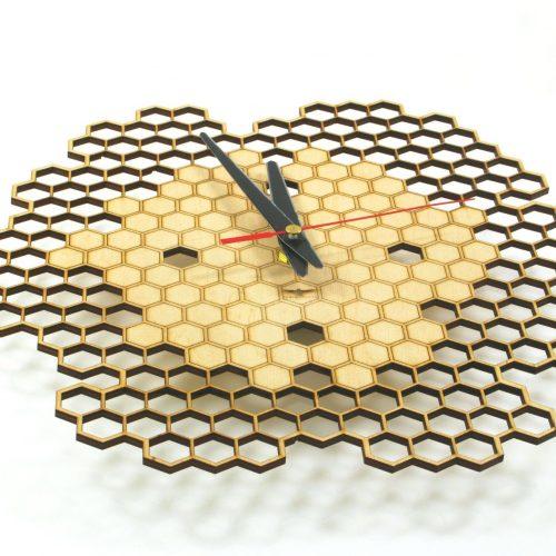 wood-clock-honey3