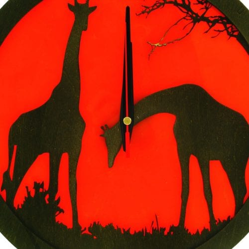wood-clock-africa-giraffe2
