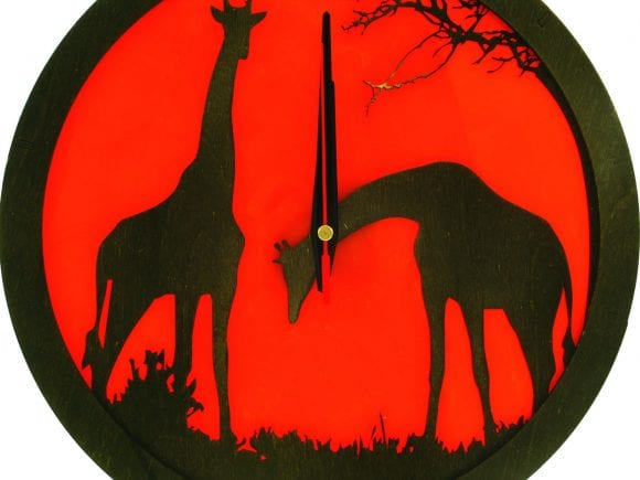 wood-clock-africa-giraffe2