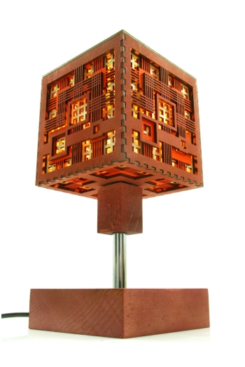 Wooden lamp table squares indigovento wood lamp squares525 aloadofball Choice Image