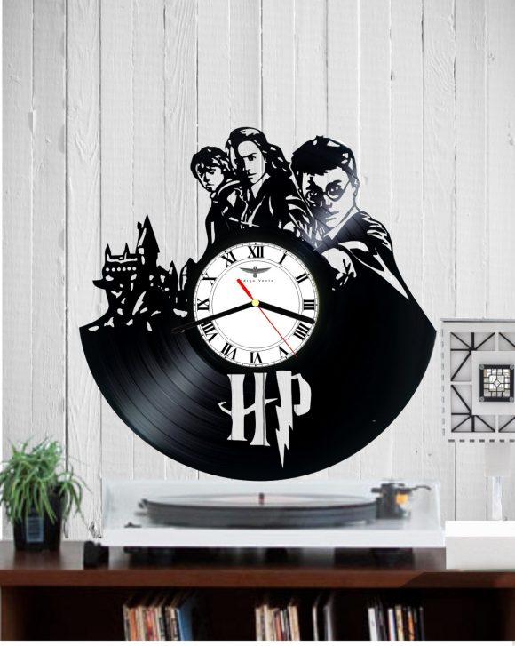 vinyl-clock-harry-potter