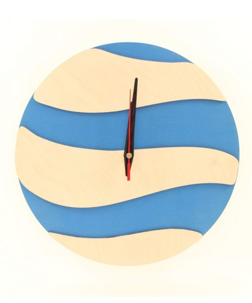 wood-clock-modern-ocean