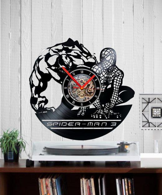 vinyl-clock-spiderman3